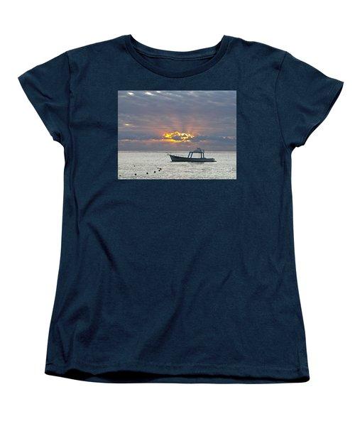 Sunrise - Puerto Morelos Women's T-Shirt (Standard Cut) by Sean Griffin