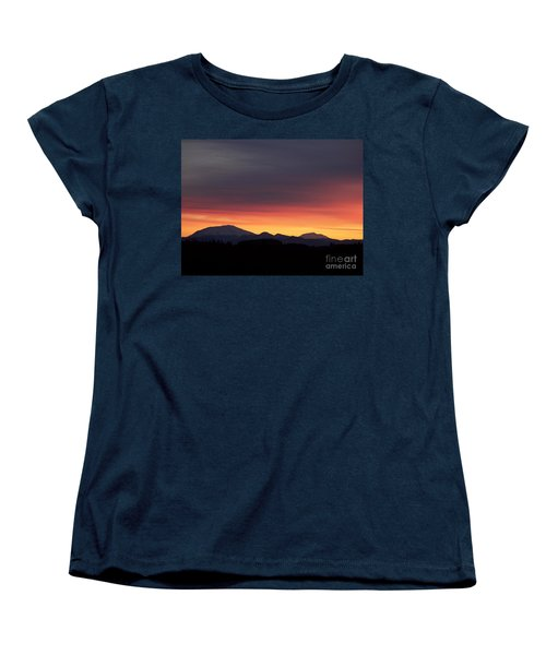 Women's T-Shirt (Standard Cut) featuring the photograph Sunrise 3 by Chalet Roome-Rigdon