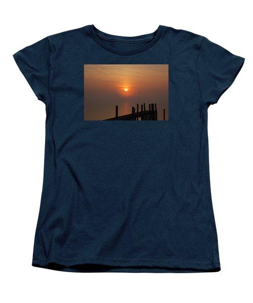 Sunrise On The River Women's T-Shirt (Standard Cut)