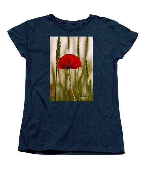 Women's T-Shirt (Standard Cut) featuring the photograph Sunset Glow. by Clare Bambers