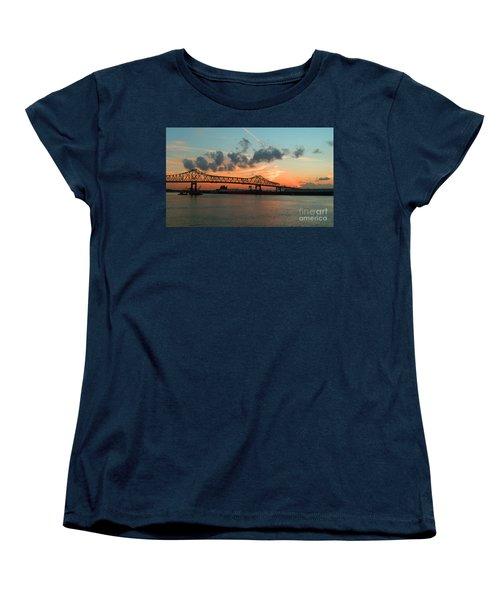 Sunset On The Mississippi  Women's T-Shirt (Standard Cut)