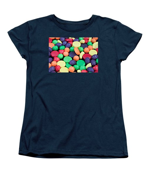 Women's T-Shirt (Standard Cut) featuring the photograph Sweet Candy Galore  by Sherry Hallemeier