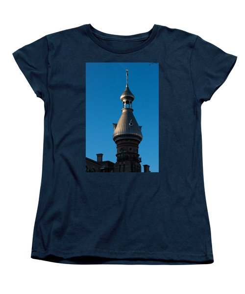 Women's T-Shirt (Standard Cut) featuring the photograph Tampa Bay Hotel Minaret by Ed Gleichman