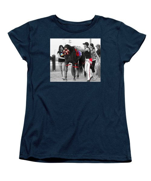 Women's T-Shirt (Standard Cut) featuring the photograph The Backside by Davandra Cribbie