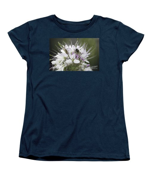 The Beetle And The Bee Women's T-Shirt (Standard Cut) by Donna Greene