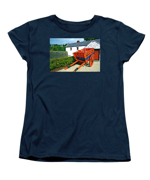 Women's T-Shirt (Standard Cut) featuring the photograph The Cart by Charlie and Norma Brock