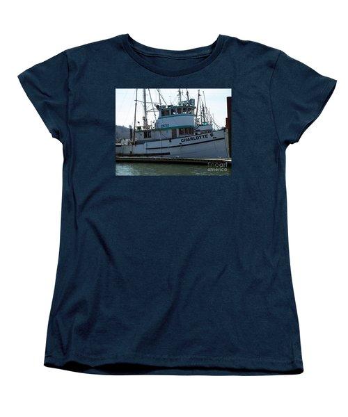 The Charlotte B Women's T-Shirt (Standard Cut) by Chalet Roome-Rigdon