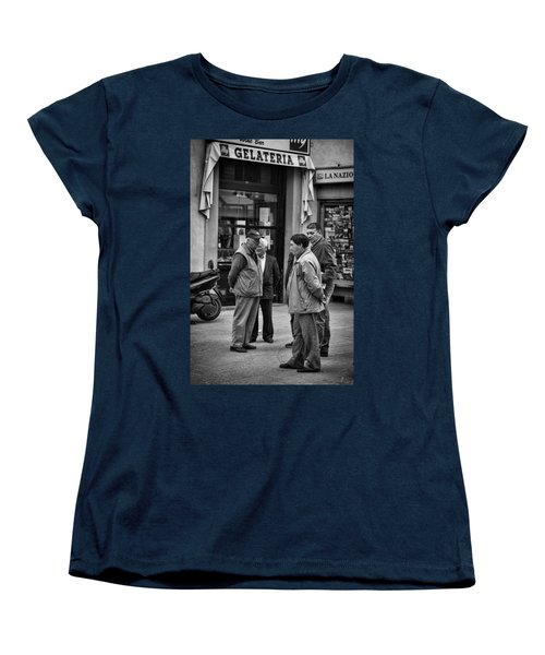 Women's T-Shirt (Standard Cut) featuring the photograph The Conference by Hugh Smith