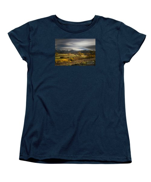 The Dallas Divide Women's T-Shirt (Standard Cut) by Keith Kapple