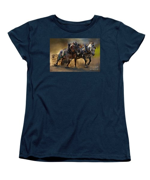 Women's T-Shirt (Standard Cut) featuring the photograph The Power Of Two by Davandra Cribbie