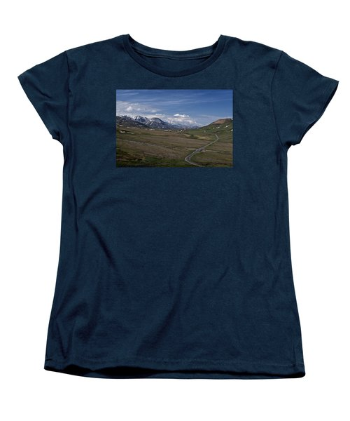 The Road To The Great One Women's T-Shirt (Standard Cut) by Wes and Dotty Weber