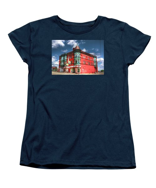The Sauter Building Women's T-Shirt (Standard Cut) by Dan Stone