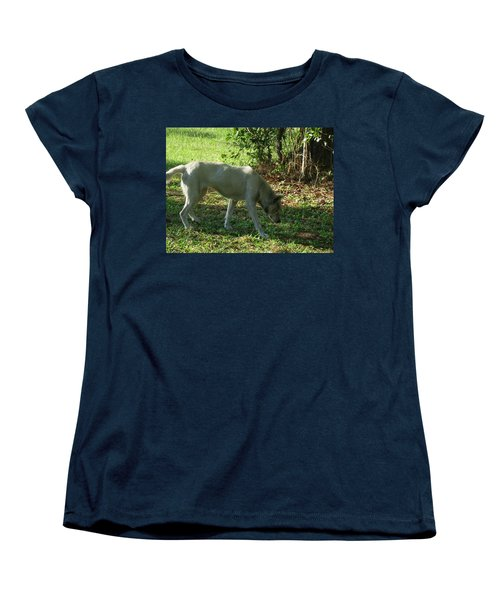 The Tracker Women's T-Shirt (Standard Cut) by Maria Urso