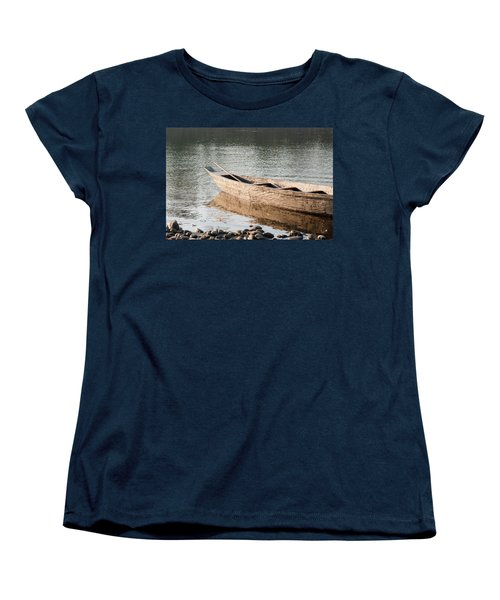 Women's T-Shirt (Standard Cut) featuring the photograph The Wait by Fotosas Photography