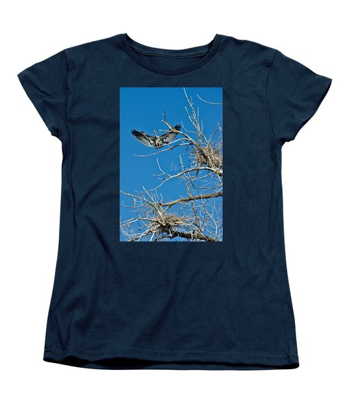 Time To Nest Women's T-Shirt (Standard Cut) by Colleen Coccia