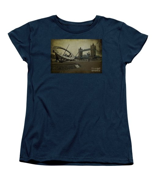 Women's T-Shirt (Standard Cut) featuring the photograph Timepiece. by Clare Bambers