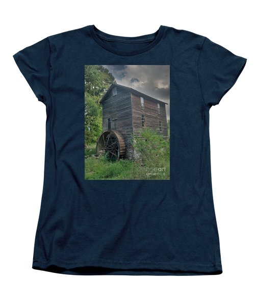 Women's T-Shirt (Standard Cut) featuring the photograph Times Forgotten by Janice Spivey