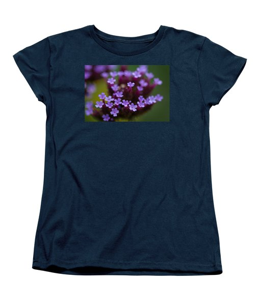 tiny blossoms II Women's T-Shirt (Standard Cut) by Andreas Levi