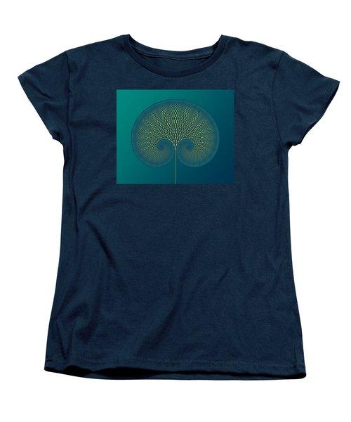 Tree Of Well-being Women's T-Shirt (Standard Cut) by Mark Greenberg