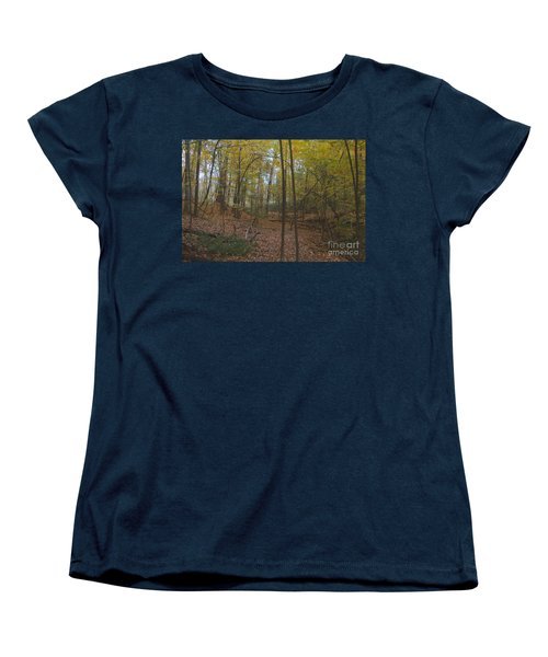 Women's T-Shirt (Standard Cut) featuring the photograph Tryon Park by William Norton