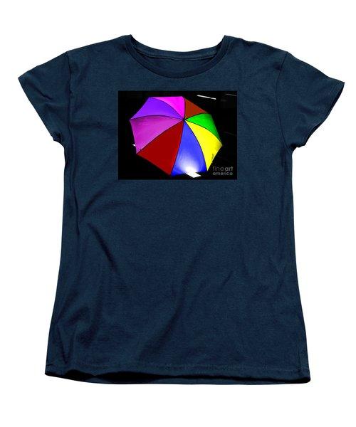 Women's T-Shirt (Standard Cut) featuring the photograph Umbrella by Blair Stuart