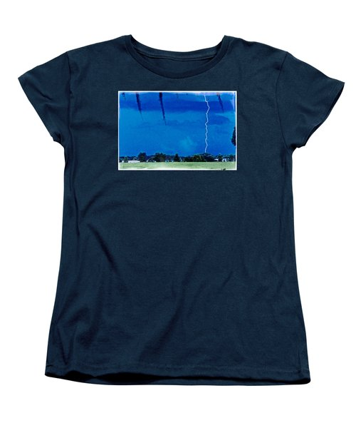 Women's T-Shirt (Standard Cut) featuring the photograph Underneath- My Fears by Janie Johnson