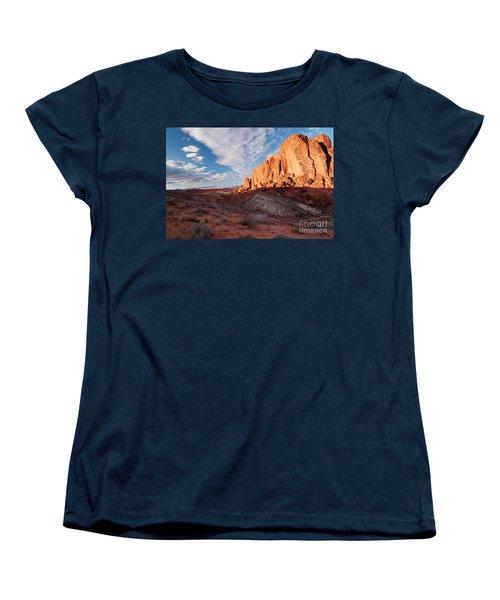 Valley Of Fire Women's T-Shirt (Standard Cut) by Art Whitton