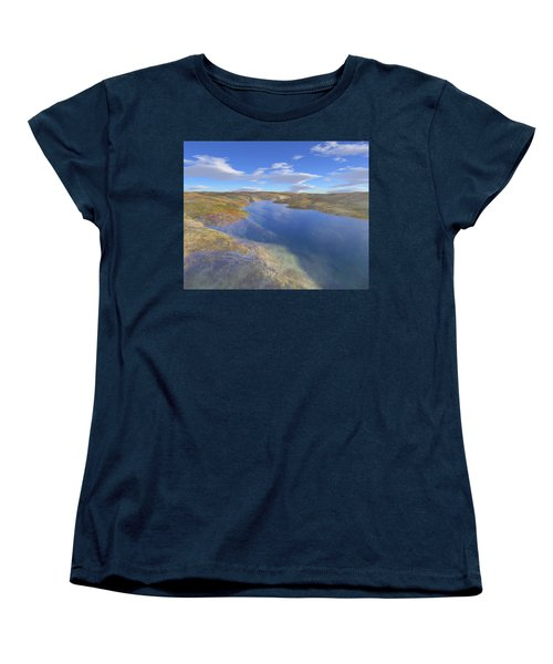 Valley Stream 2 Women's T-Shirt (Standard Cut) by Mark Greenberg