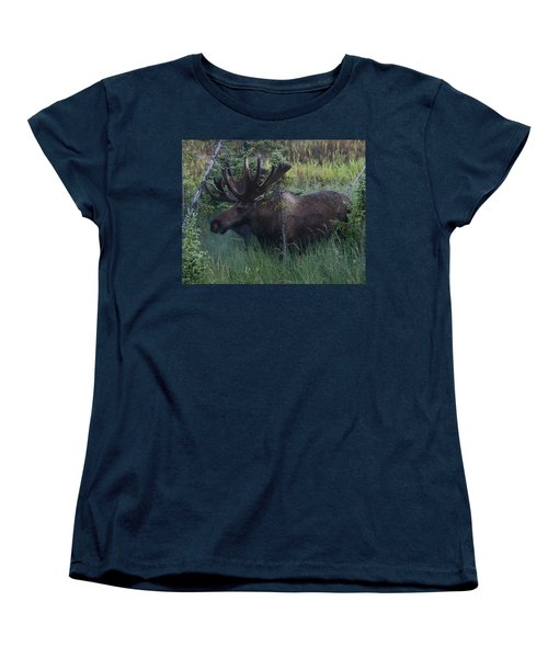 Women's T-Shirt (Standard Cut) featuring the photograph Velvet by Doug Lloyd