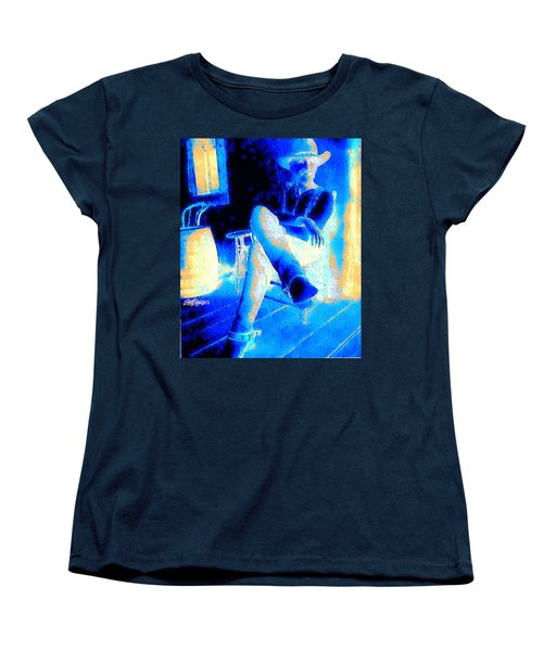 Women's T-Shirt (Standard Cut) featuring the photograph Waiting Up by Seth Weaver