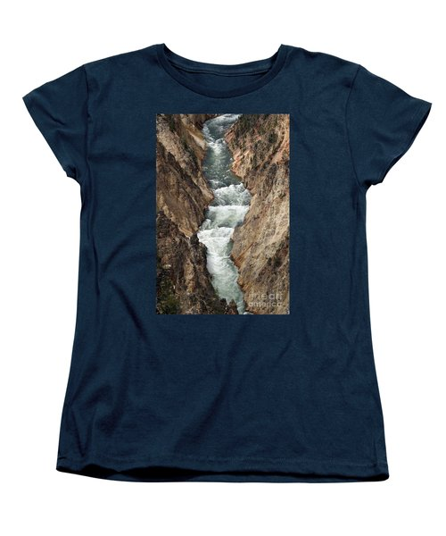 Water And Rock Women's T-Shirt (Standard Cut) by Living Color Photography Lorraine Lynch