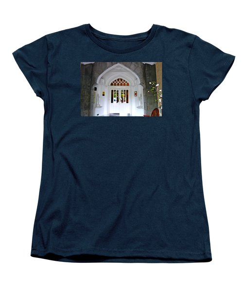 Women's T-Shirt (Standard Cut) featuring the photograph Welcome To The Manor by Charlie and Norma Brock