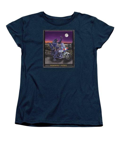 Werewolf Patrol Women's T-Shirt (Standard Cut) by Glenn Holbrook