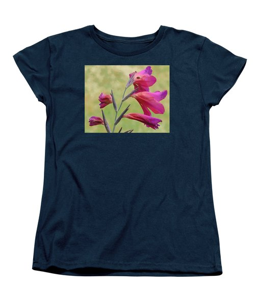 Women's T-Shirt (Standard Cut) featuring the digital art Which Way Did The Sun Go by Steve Taylor