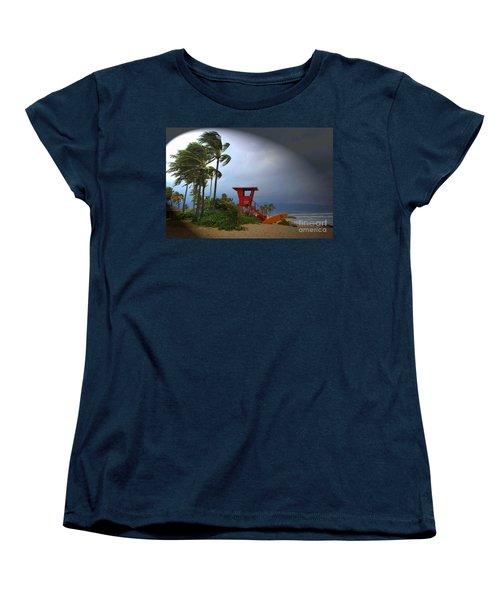 Windy Day In Haleiwa Women's T-Shirt (Standard Cut) by Mark Gilman