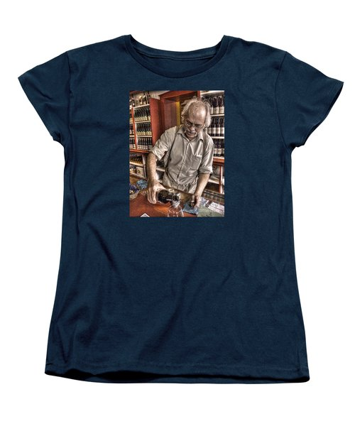 Women's T-Shirt (Standard Cut) featuring the photograph Wine I Know Was Made To Drink by William Fields