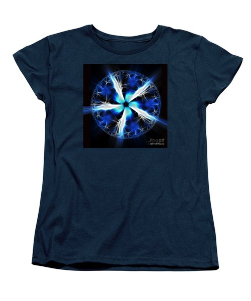 Wings Of Abyss Women's T-Shirt (Standard Cut) by Danuta Bennett