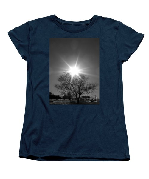Winter Light Women's T-Shirt (Standard Cut) by Dorrene BrownButterfield
