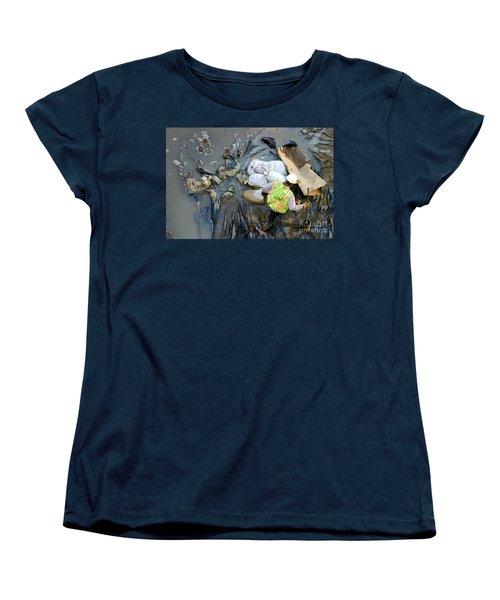 Working The Mud Women's T-Shirt (Standard Cut) by Henrik Lehnerer