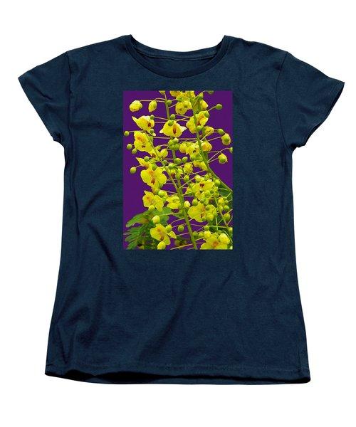 Women's T-Shirt (Standard Cut) featuring the photograph Yellow Flower by Manuela Constantin