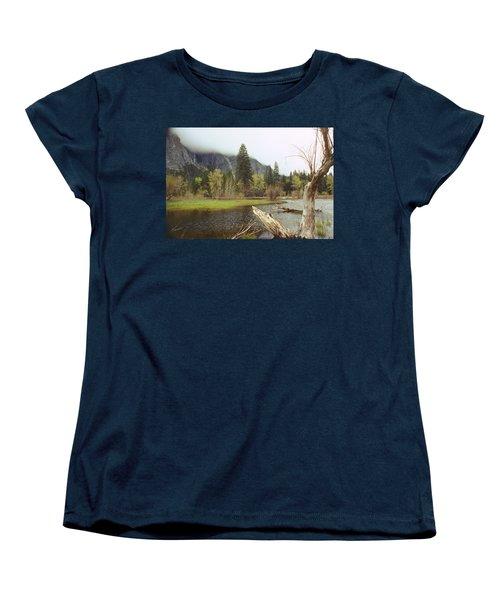Yosemite Women's T-Shirt (Standard Cut) by Mark Greenberg