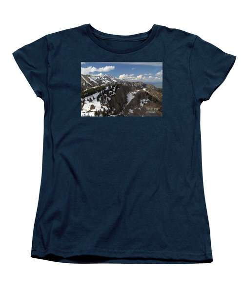 You Can See For Miles Women's T-Shirt (Standard Cut) by Living Color Photography Lorraine Lynch