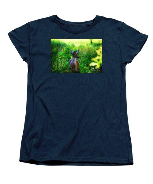 Young Deer Women's T-Shirt (Standard Cut)
