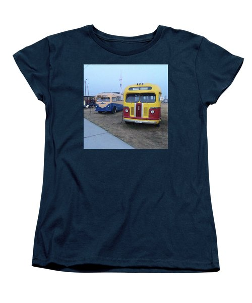 Retro Bus Women's T-Shirt (Standard Cut)