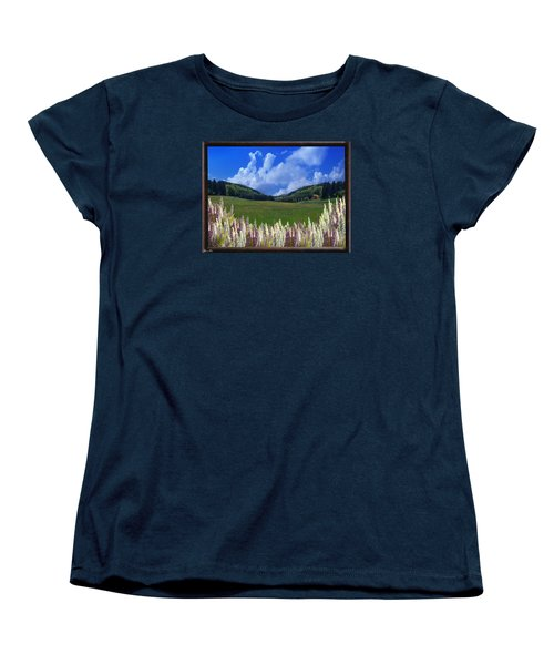 Women's T-Shirt (Standard Cut) featuring the photograph  A Beautiful View by Bernd Hau