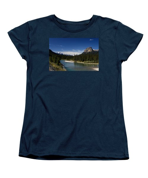 Castle Mountain 1 Women's T-Shirt (Standard Cut)
