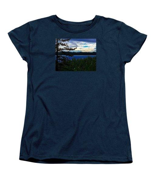 Chrystal Blue Waters Women's T-Shirt (Standard Cut) by B Wayne Mullins
