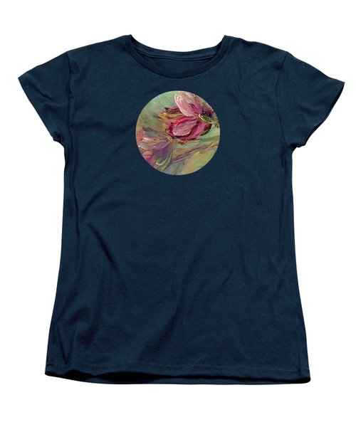 Flower Blossoms Women's T-Shirt (Standard Cut) by Mary Wolf