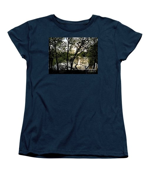 Women's T-Shirt (Standard Cut) featuring the photograph  In The Shadows  - No. 430 by Joe Finney