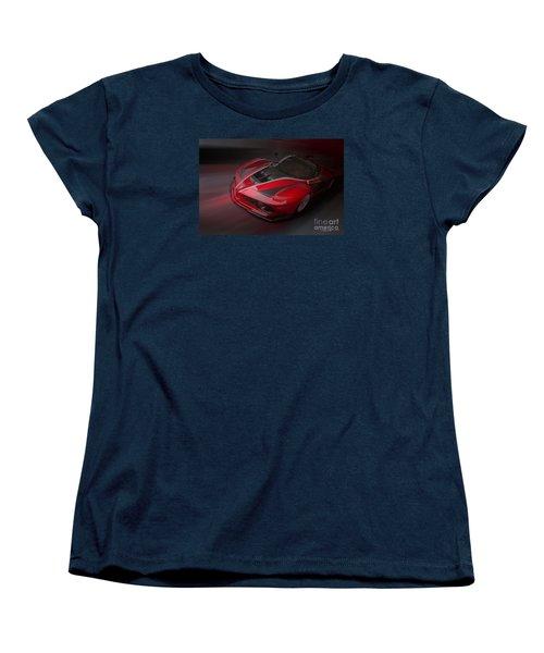 La Ferrari Fxx K Women's T-Shirt (Standard Cut) by Roger Lighterness